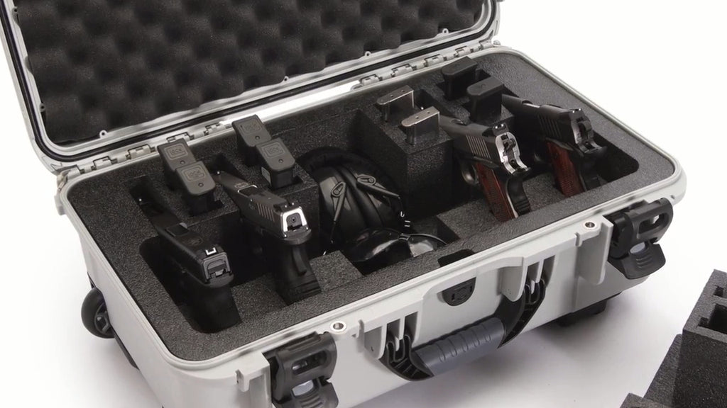 Nanuk 935 6 Up Gun Case Custom Set Up