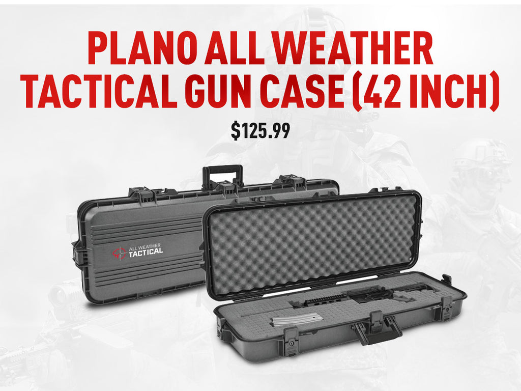 Plano All Weather Tactical Gun Case (42 inch) - $125.99