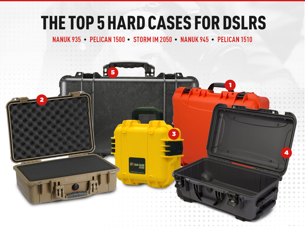 Top 5 Hard Cases for DSLRs
