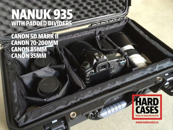 Nanuk 935 for DSLR