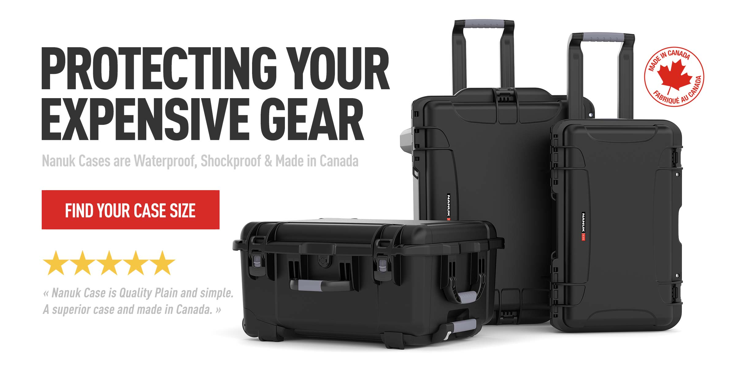 Protect Your Expensive Gear with Nanuk Hard Cases