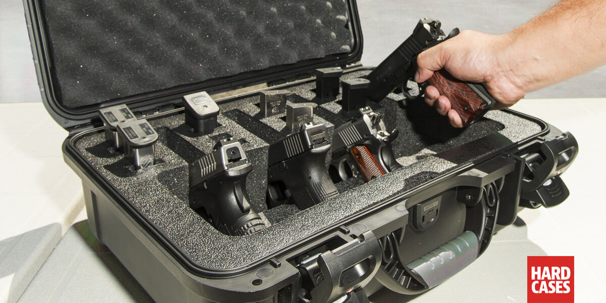 The Perfect Hard Case for your multiple handguns and pistols