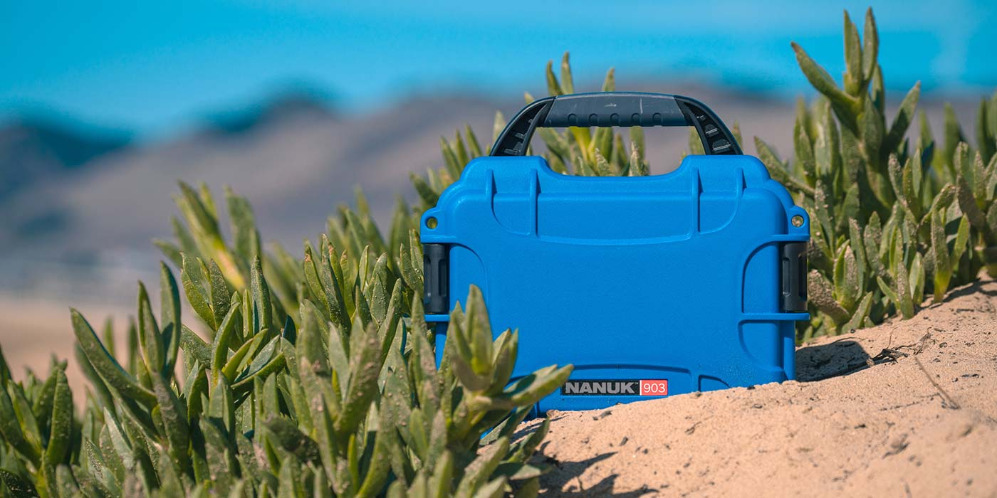 Nanuk 903 in Blue Lifestyle
