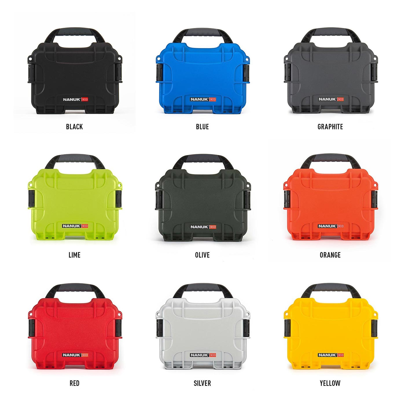 Nanuk 903 is available in 9 colors