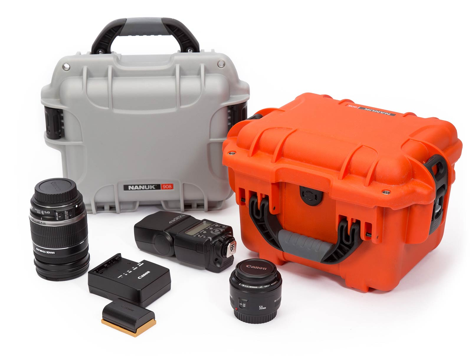 Nanuk 908 for Digital Camera and Lenses