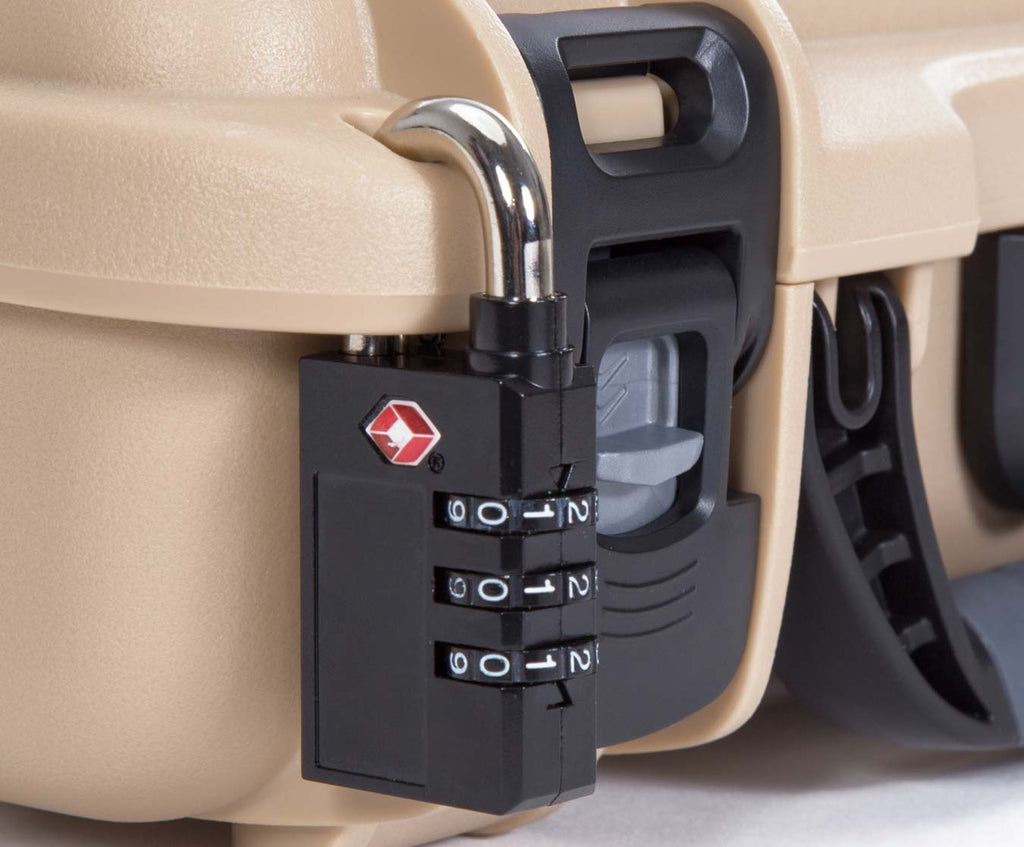 Nanuk 909 for Glock Gun with TSA Padlock