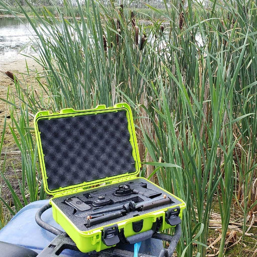 Nanuk 910 2 Up Gun Hard Case