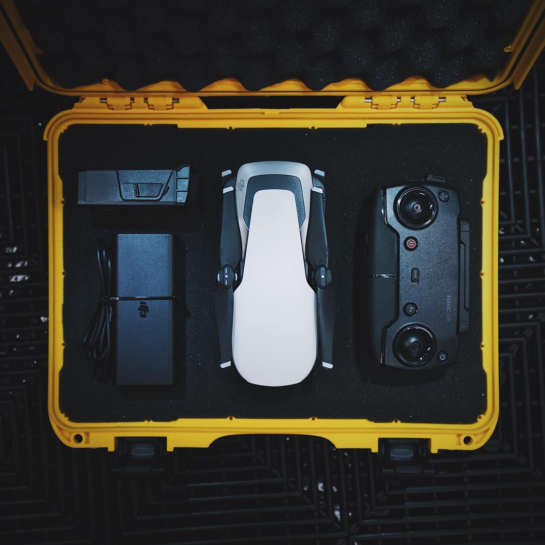 Nanuk 910 Mavic Air Hard Case