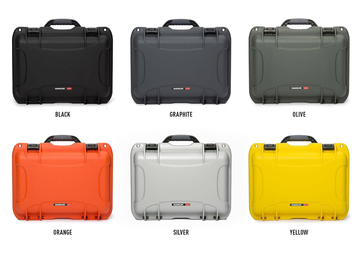 Nanuk 918 Hard Case Available in 6 Colors