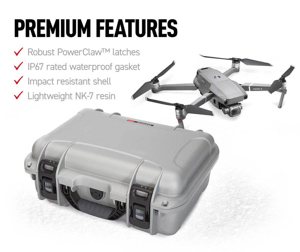 Nanuk 920 Mavic Pro 2 Hard Case Features