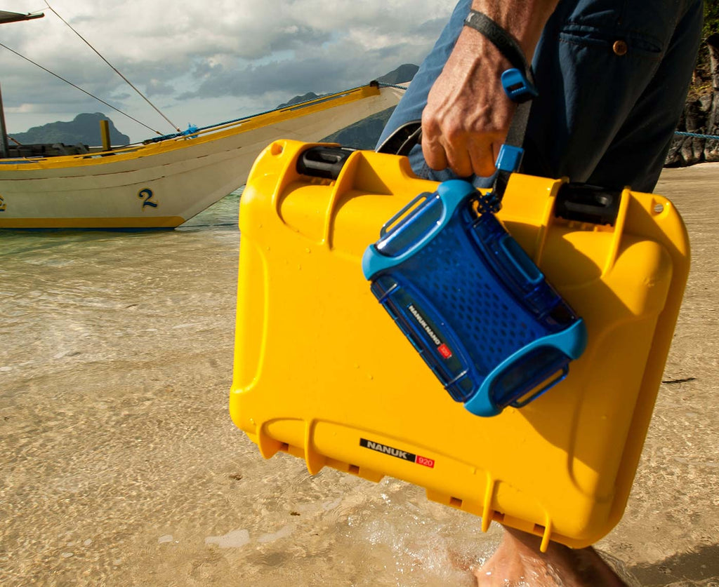 Nanuk 920 Mavic Pro 2 Hard Case in Yellow in Thailand