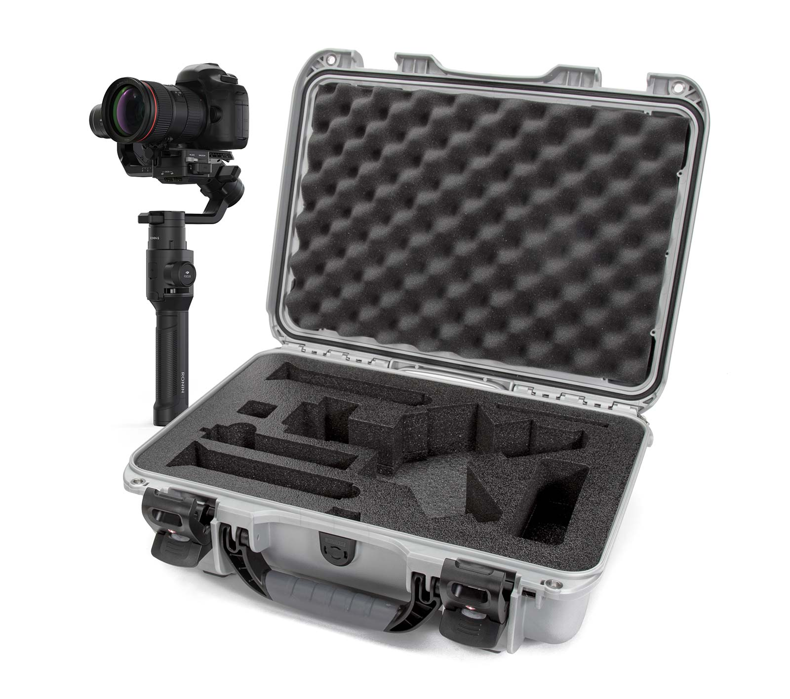 Nanuk 923 in Silver with the DJI Ronin-S