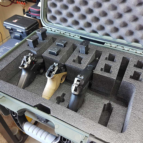 Nanuk 925 4 up Pistol Hard Case