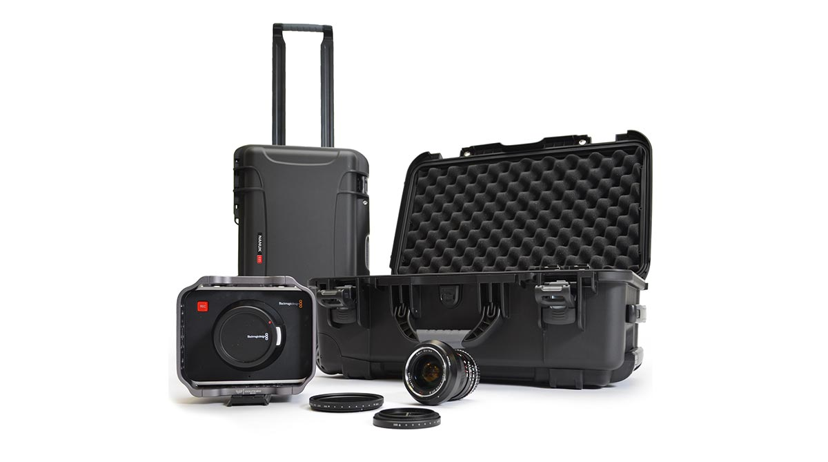 Nanuk 935 fits DSLR Cameras and other Video Gear