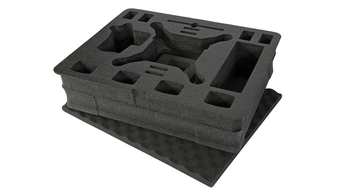 This is the Hard Custom Foam for the DJI Phantom that comes with this case