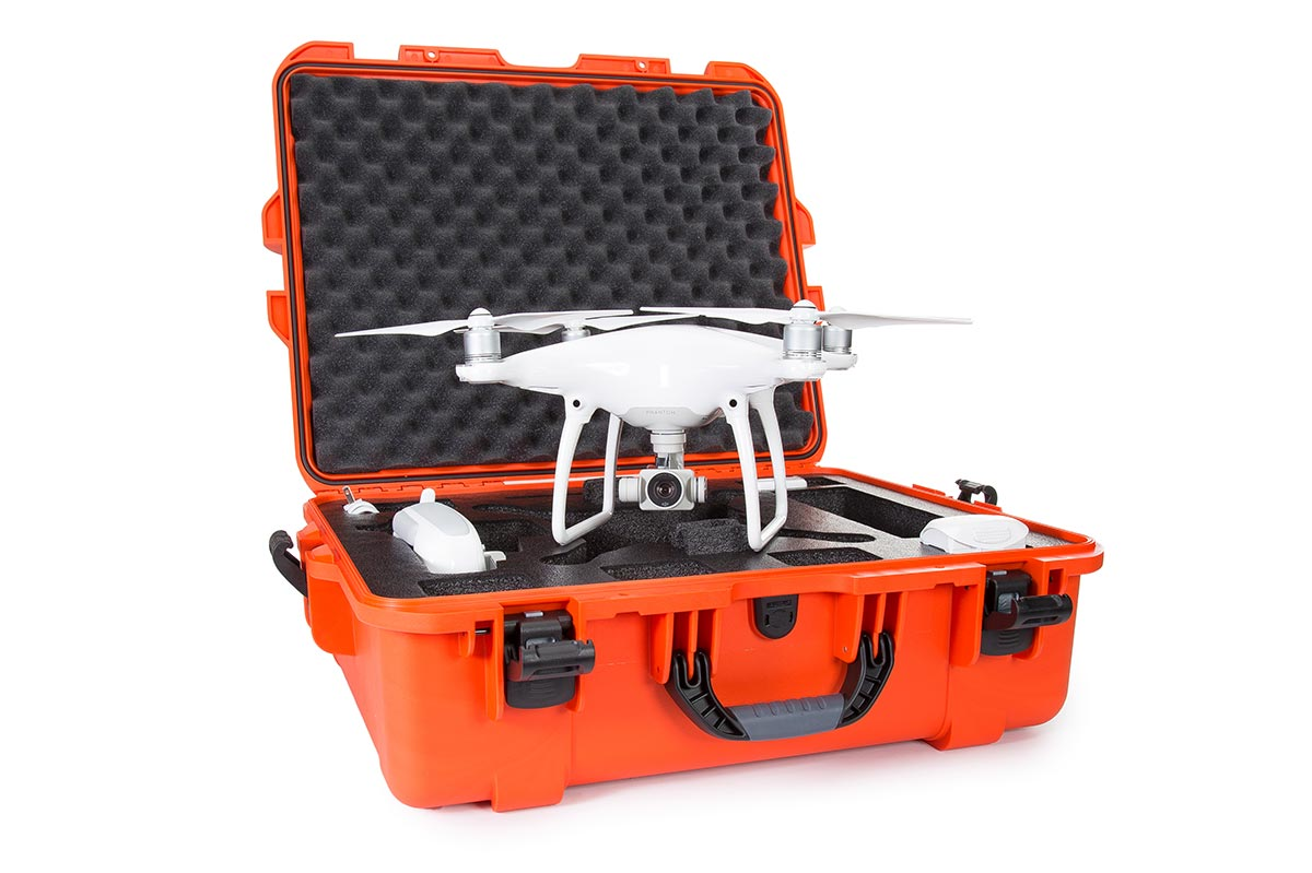 Nanuk 945 for The Phantom Drone in Orange