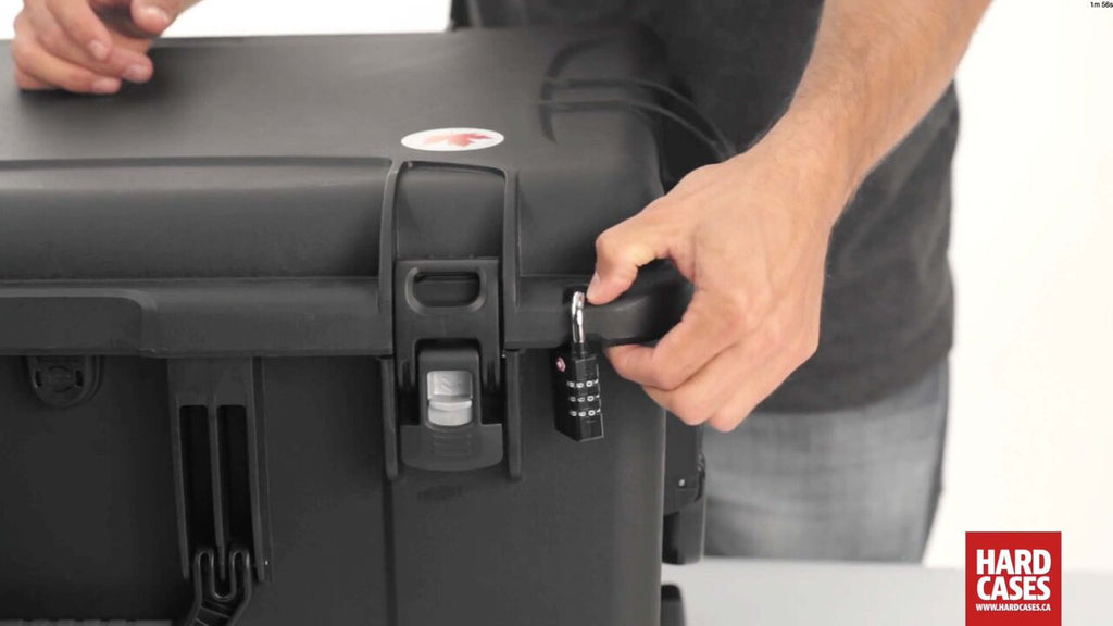 Nanuk 960 Hard Case TSA Lock