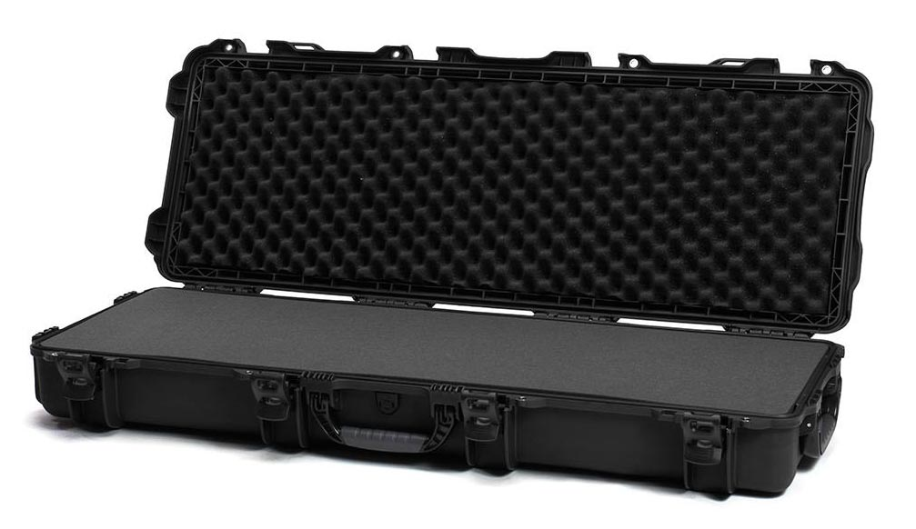 Nanuk 990 in Black Open Full Foam Views