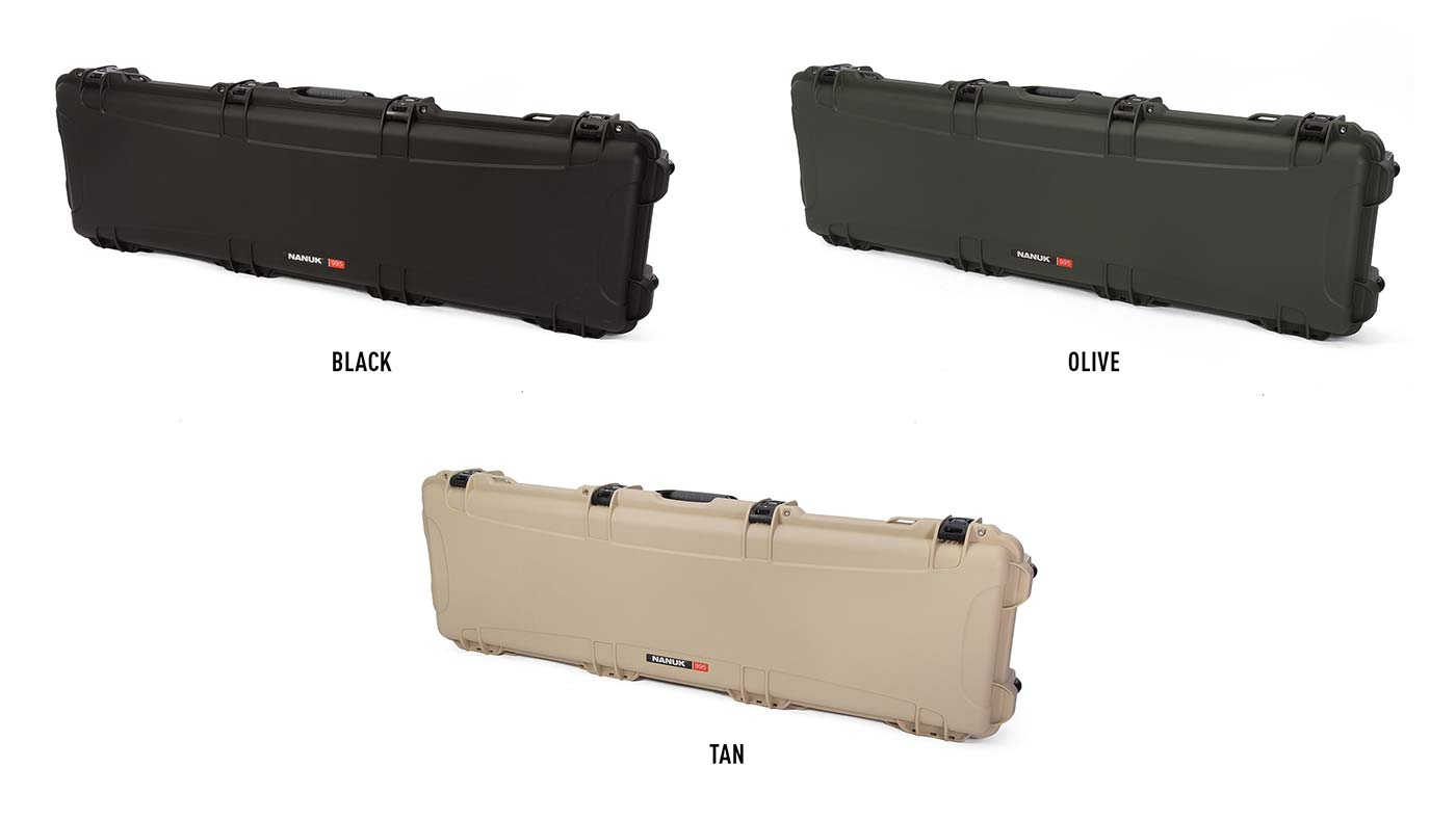 Nanuk 995 available in 3 different colors