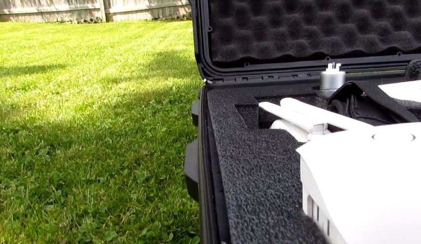 Nanuk 950 Hard Case for Phantom 3 and 4