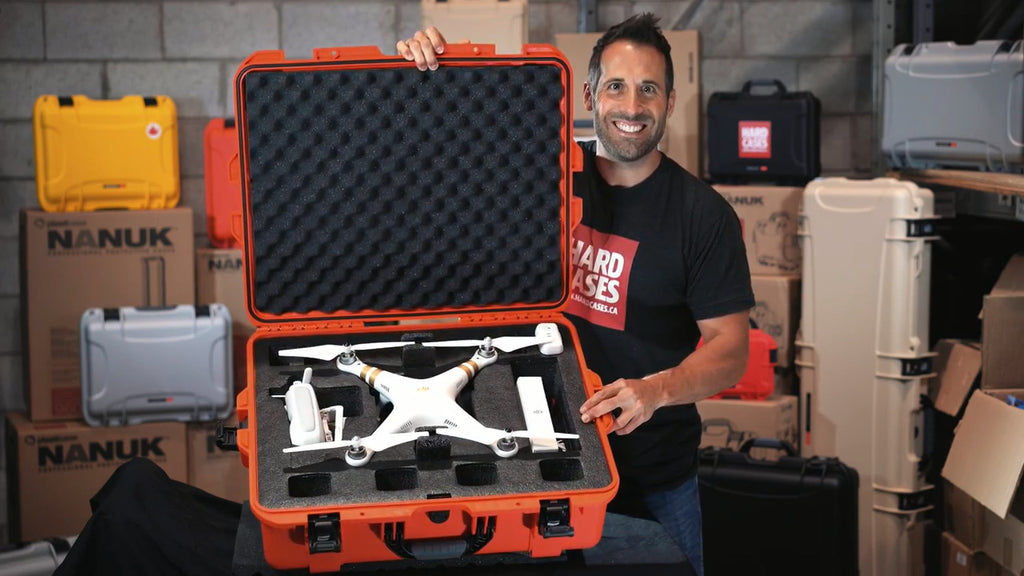 Nanuk 945 DJI Phantom in Red