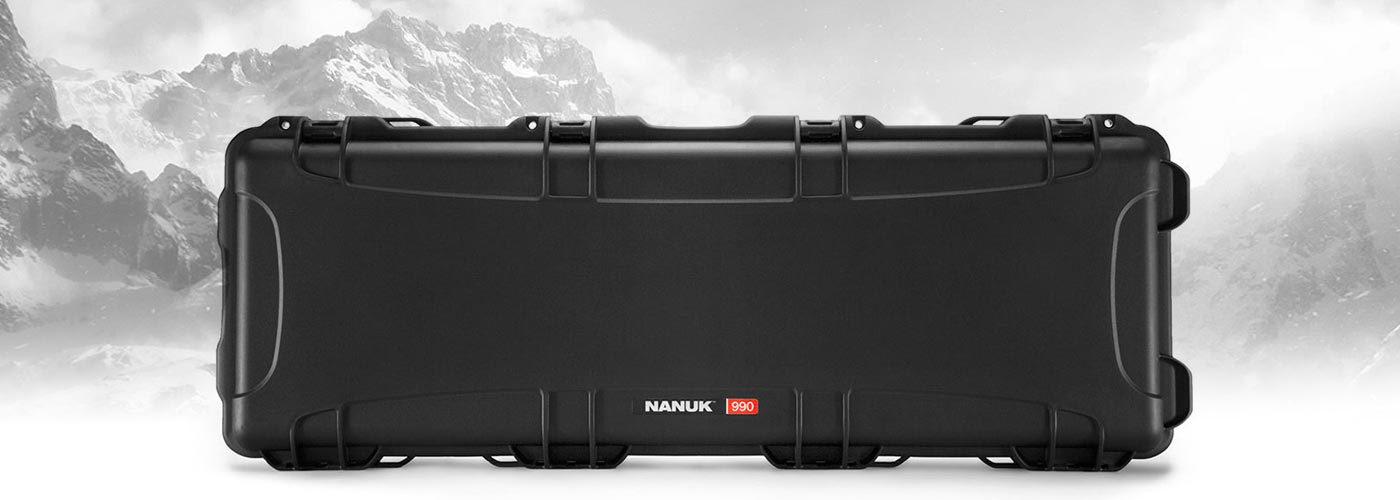 Nanuk 990 Case in Black perfect for rifles