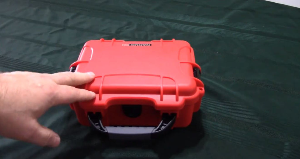 Nanuk 904 Hard Case - Water Proof