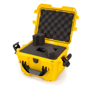 Nanuk 908 in Yellow Cubed Foam - Nanuk Case