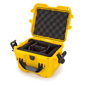 Nanuk 908 in Yellow Padded Dividers - Nanuk Case