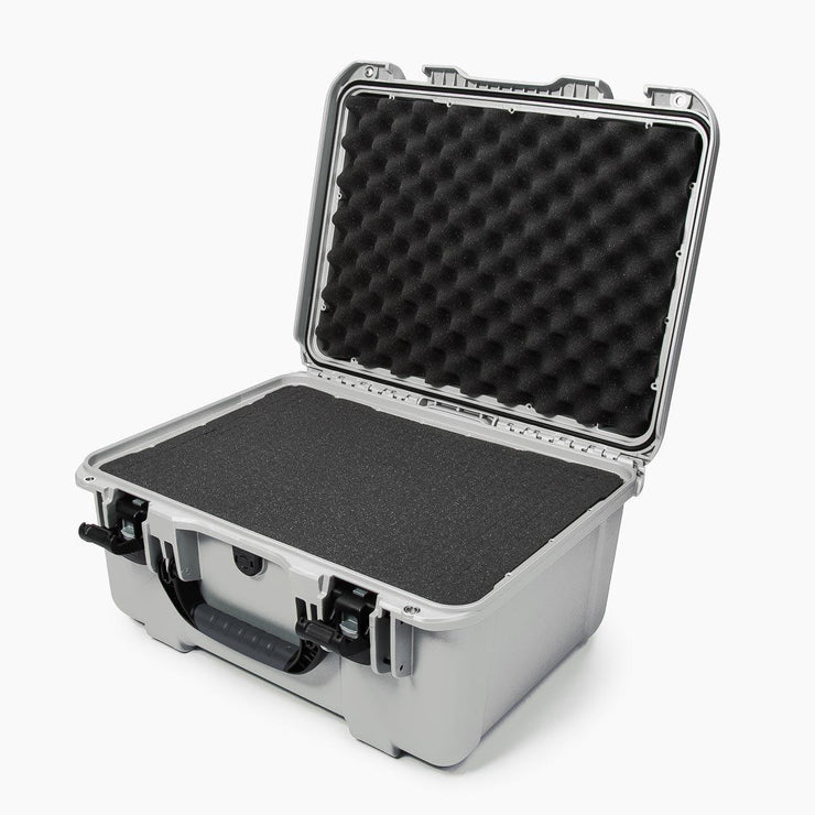 Nanuk 933 Silver with Cubed Foams