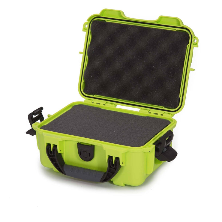 Nanuk 904 In Lime with Cubed Foams