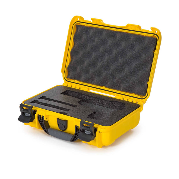 Nanuk 909 Classic Pistol Case in Yellow - Pistol Case