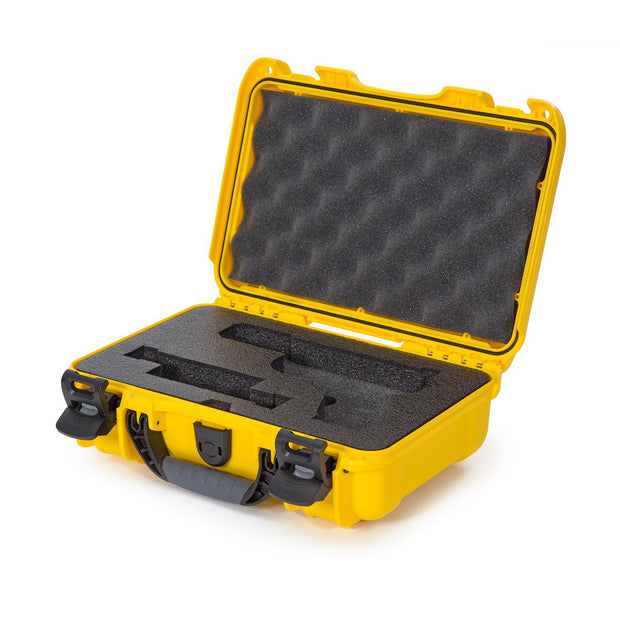 Nanuk 909 Glock Pistol Case in Yellow - Pistol Case
