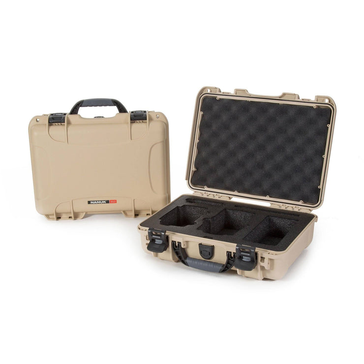 Nanuk 910 Mavic Air in Tan - Hard Case
