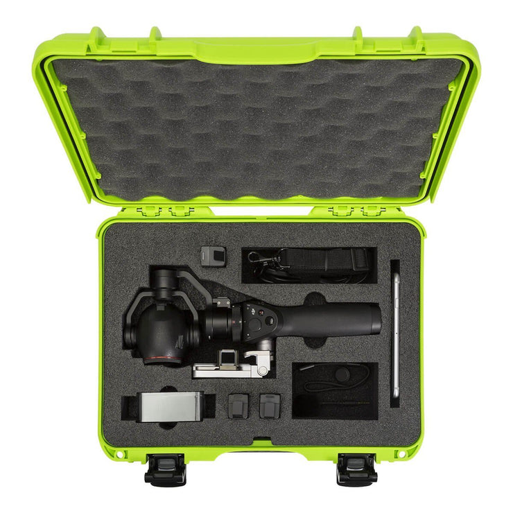 Nanuk 910 DJI Osmo Plus Hard Case in Lime