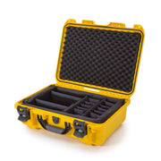 Nanuk 920 in Yellow with Padded Dividers