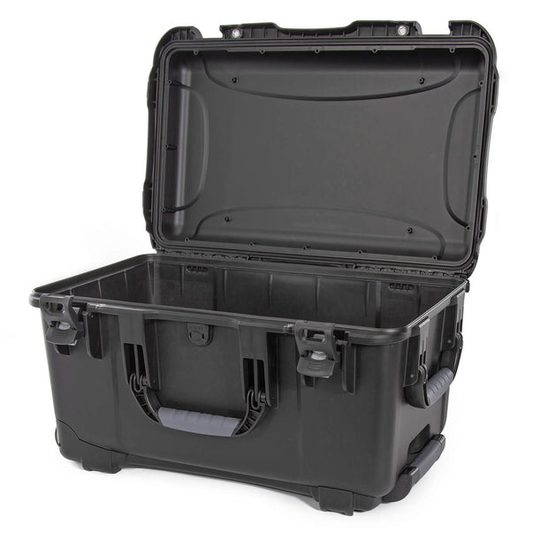Nanuk 938 Hard Case in Black Empty with Handle and Wheels