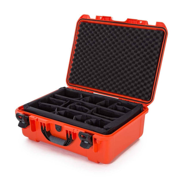 Nanuk 940 in Orange Padded Divider - Nanuk Case