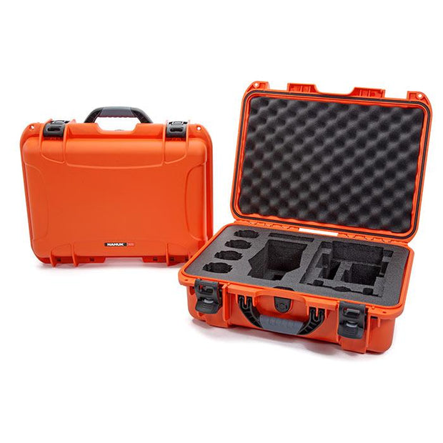 Nanuk 925 DJI Mavic 2 Pro|Zoom + Smart Controller in Orange - Media Case