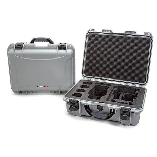 Nanuk 925 DJI Mavic 2 Pro|Zoom + Smart Controller in Silver - Media Case