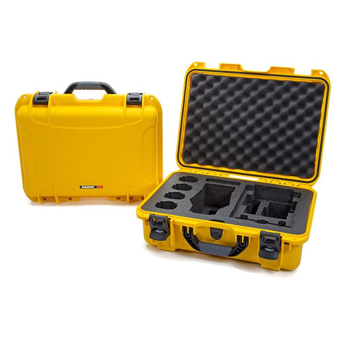 Nanuk 925 DJI Mavic 2 Pro|Zoom + Smart Controller in Yellow - Media Case