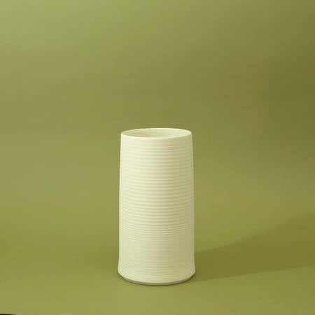 Cold Mountain Vase 2 - Bisque