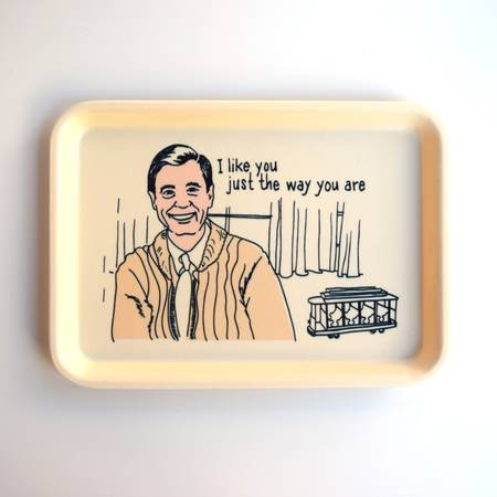 Mr. Rogers Cambro Tray - Liz & Addie