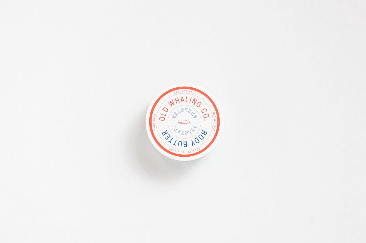 Seaberry + Rose Clay Body Butter 8oz