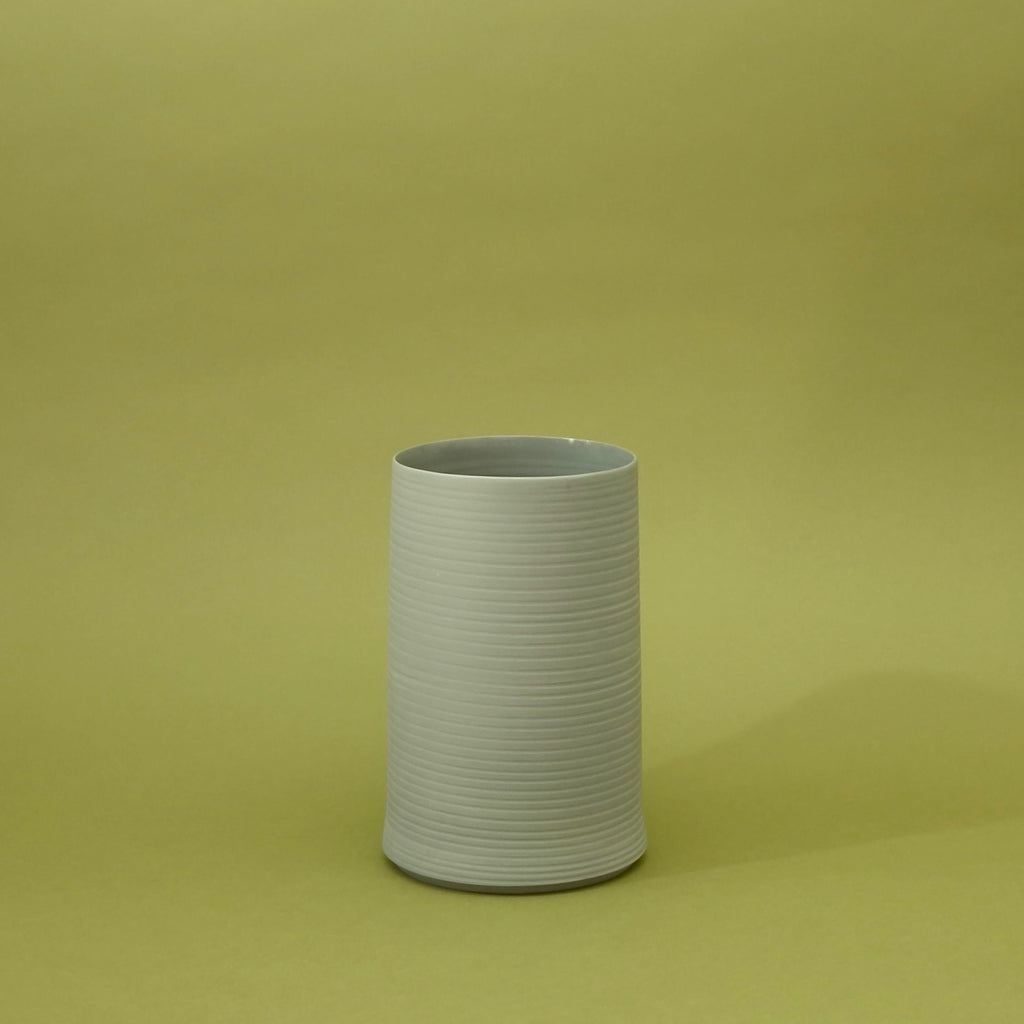 Cold Mountain Vase 2 - Steel Grey