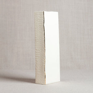 Rectangle Vase with Hand Carving