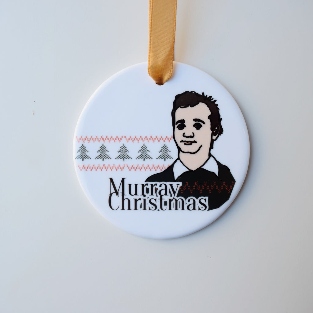 Bill Murray Holiday Ornament