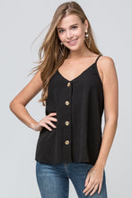 Load image into Gallery viewer, Camisole - Black