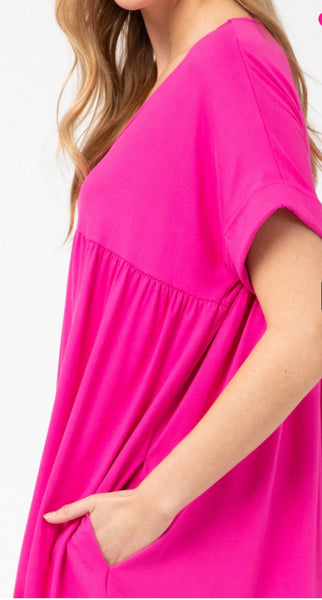 Keeping it Casual Babydoll Dress - Liz & Addie