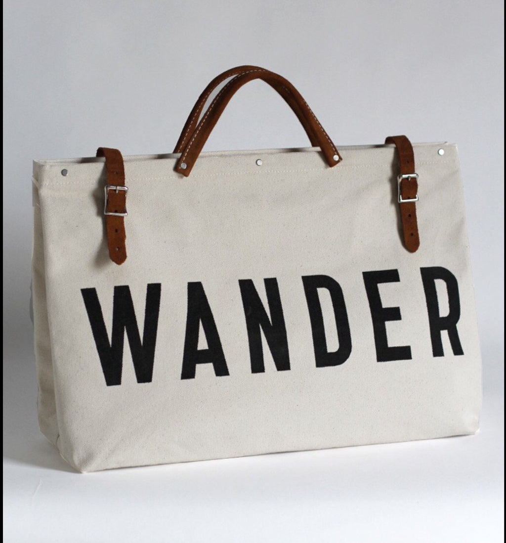 Forestbound WANDER Canvas Utility Bag